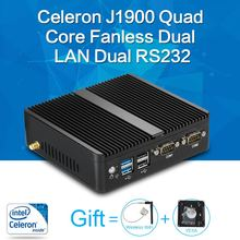 XCY Mini PC quad core J1900 8G RAM 128G SSD HTPC Fanless Nuc Intel HD Graphics Micro PC computer