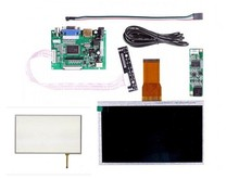 7 Inch TFT Touch Screen LCD Monitor for + Driver Board HDMI VGA 2AV(China)
