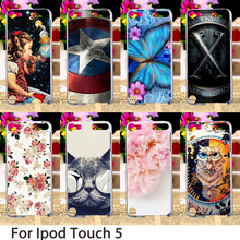 TAOYUNXI Soft Mobile Smartphone Cases For Apple iPod Touch 5 5th 5G touch5 Case Hard Back Cover Dirt-resistant Skin Bag(China)