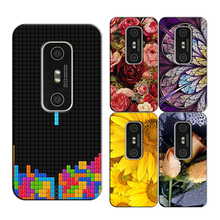 Printed Original Phone Case Cover for HTC EVO 3D G17 X515m Smartphone Coque Back Covers Capa New Fashion