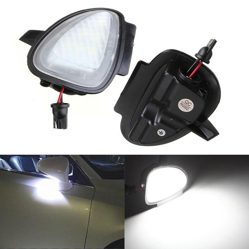 2 pcs Error Free 6 LED  Trunk Light Car Under Side Mirror Puddle Light Fit for VW GTi Golf 6 6/MKVI MKV6 Cabriolet Touran<br><br>Aliexpress