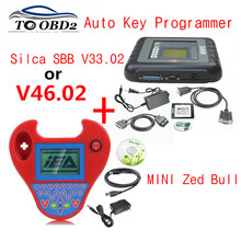 Best Auto Key Maker MINI Zed Bull Zed-Bull Smart Silca SBB v46.02 OR V33.02 Auto Transponder No Tokens Limited Free Ship(China)