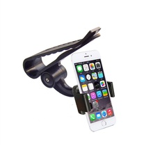 360 Rotating Universal Car Sun Visor Phone Mount Clip Holder Stand Bracket For Samsung For iPhone Phone GPS PDA MP4 Camera DVR
