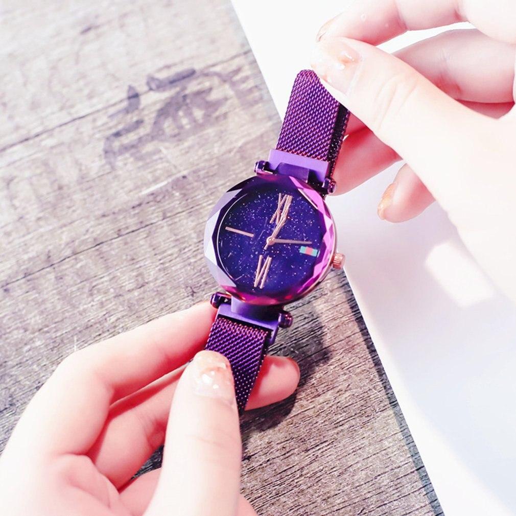 Luxury Brand Waterproof Flash Star Wrist Watches For Women 1
