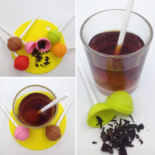 Silicon Sweet Tea Coffee Infuser Candy Leaf Mug Strainer Cup Steeper 5 Colors Herbal Spice Filter Diffuser