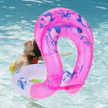 New Adult Kids Swim Ring Aquatic Float Inflatable Tube Pool Swim Aid Vest float seat Arm floats Circle(China)