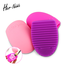Her name high Quality Brush Cleaning Egg Cosmetic Brush Cleanser makeup Cosmetic Foundation Cleaning Tools Cleanser