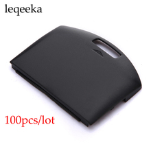 100 pieces /lot Black Back Battery Replacement Cover Door Case for Sony PSP 1000 1001 Fat(China)