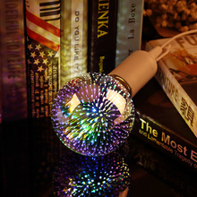 Buy LED Light Bulb 3D Decoration Edison Bulb E27 4W 220-240V Holiday Party Lights Novelty Lighting ST64 A60 G80 G95 G125 Decor Lamp for $4.81 in AliExpress store