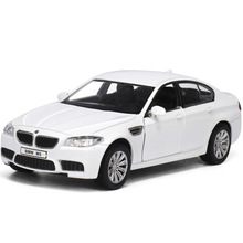 Brand New 1:36 Scale car model for BMW M5 Germany Diecast Metal Pull Back Flashing Musical Car Model Gift Collection Kids Toy