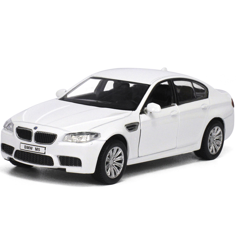 Brand New 1:36 Scale car model for BMW M5 Germany Diecast Metal Pull Back Flashing Musical Car Model Gift Collection Kids Toy(China (Mainland))