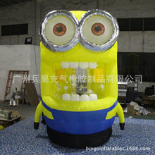 inflatable minion cash machine inflatable moneymachine for speed promotion inflatable games