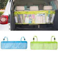 Clearance sale Car styling Auto Car Back Seat  fashion design Sundry Hanging Storage Bag Multi-Pocket Large Capacity Green
