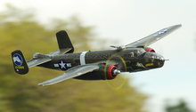 FMS RC Airplane 1400MM 1.4M B-25 B25 Mitchell Green 6CH PNP Radio Remote Control Big Scale Gaint Warbird Model Plane Aircraft(China)