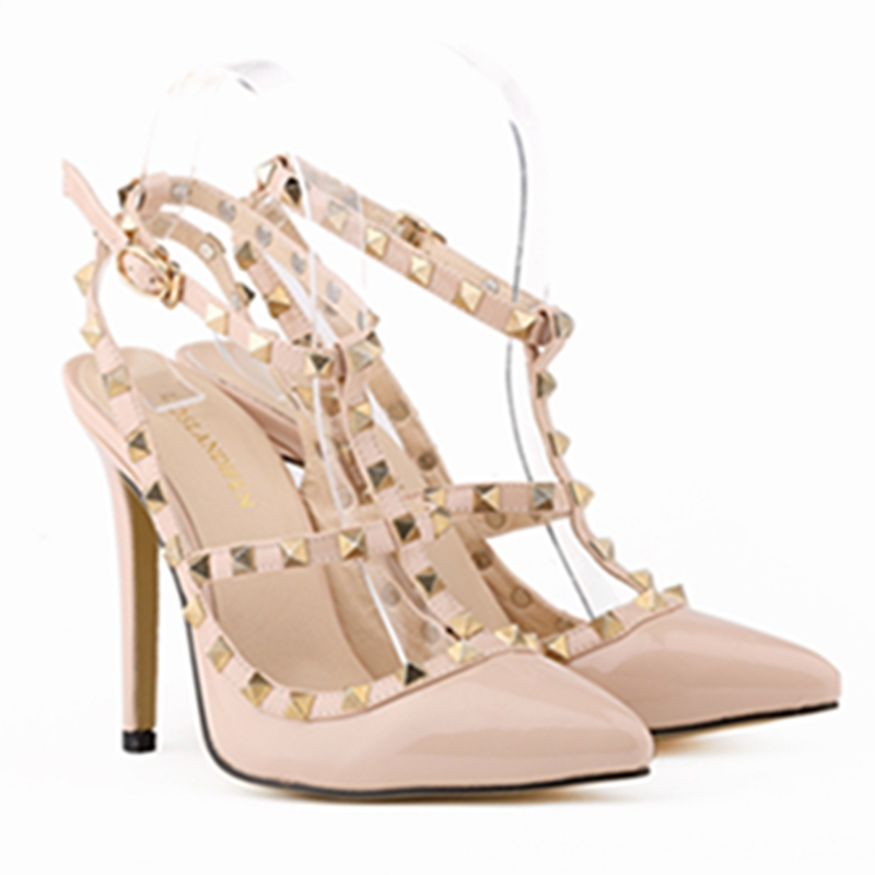 Women pumps high heels 2015 sexy fashion pointed toe women shoes thin heels pumps woman<br><br>Aliexpress