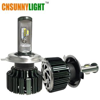 CNSUNNYLIGT CSP LED H3 H1 H4 H7 H11 H13 9005 9006 9004 9007 HB3 HB4 80 W 8000lm Coche LED Faros de Niebla del Bulbo de Luz 6000 K 12 V 24 V