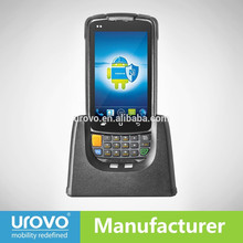 Rugged Warehouse WMS  Scanner Data Terminal, Android 4.1 / Symbol Omnidirectional 1D 2D Barcode Engine, RFID / NFC/ WCDMA