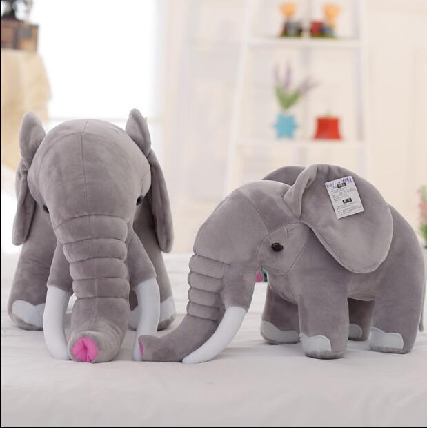 1pcs Stuffed &amp; Plush 45cm Lifelike elephant toy for birthday Christmas gift stuffed soft animals toys elephant<br><br>Aliexpress