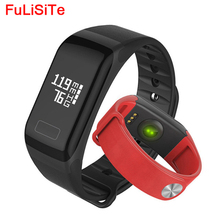 F1 Fitness Bluetooth Bracelets Vibrating Activitytracker Heart Rate Monitor Blood Pressure Smartband Call/SMS Reminder For iOS(China)