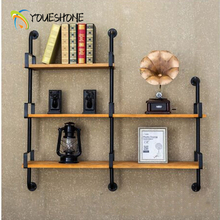 Bookcase Iron Walls Shelf Books Bonsai Living Room Decorative Bathroom Kitchen Storage wall shelves Simple Space
