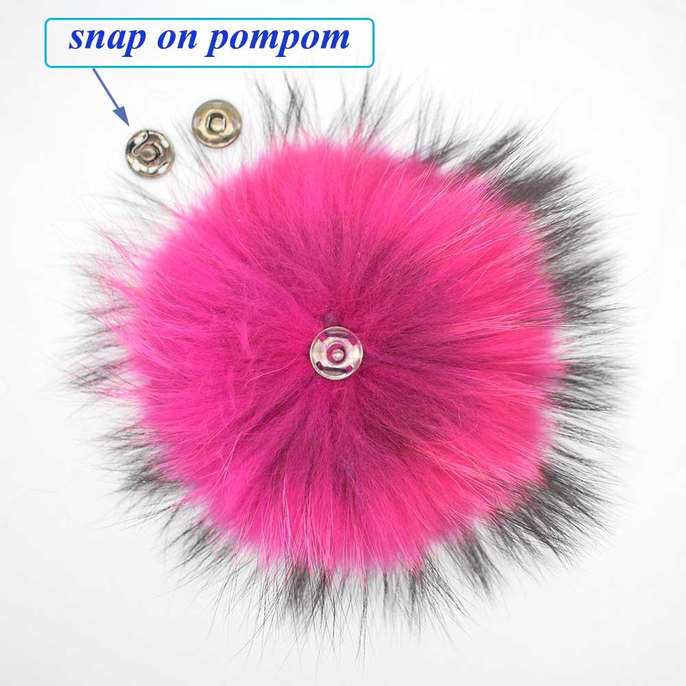 raccoon fur pompoms 6