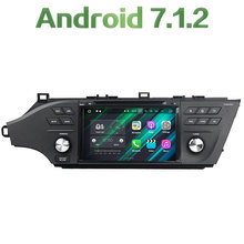 Android 7.1.2 Quad Core 2GB RAM Stereo FM Bluetooth Phone Car Radio Player USB SD LCD Touch screen for Toyota Avalon 2015-2016(China)