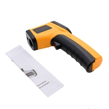 1Pcs GM320 Non-Contact Laser LCD IR Infrared Termometro Digital Surface Thermometer Use Thermal Imager Weather Station