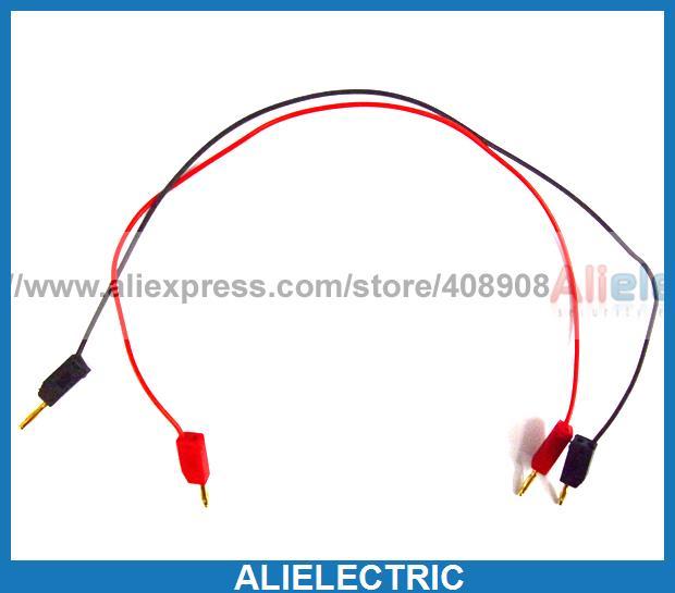 20pc 2.0mm Banana Plug to 2.0mm Banana Plug Probe Cable<br>
