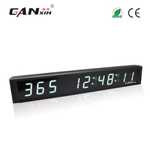 [Ganxin]White Color 1 Inch 9 Digits Low Price countdown timer days