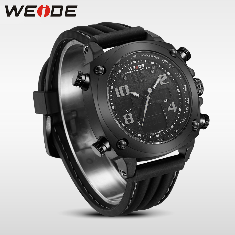 WEIDE top brand luxury sport watch Multiple Time Zone relogio masculino esportivo  relogio masculino digital clock watch box<br>