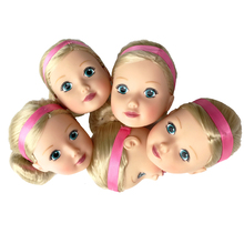 BIG MGA zapf Doll Head 1/6 White Double-fold Eyelid DIY Heads For Barbies BJD Practicing Makeup(China)