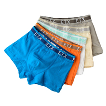 5pcs/lot Solid Color Boy Panties Cotton Children Breathable Underwears Boxer Panties For Boys Kids Shorts Pants BU015(China)