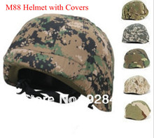 A+ quality US Military PASGT Kevlar Swat M88 Tactical Safety Helmet with covers Wholesale Freeshipping Dropshipping(China)