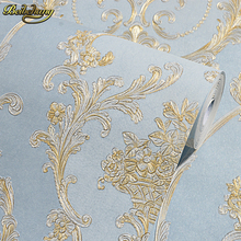 beibehang Non-woven Textured feature Vintage damask Wallpaper living room coverings papel de parede 3d wall paper Roll bedroom