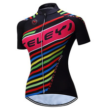 Teleyi 2017 High Quality Cycling Clothing Racing Bicycle Clothes Ropa Ciclismo MTB Bike Jersey Shirt Quick Dry Cycling Jersey