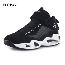 2017 New Brand FLCPAY Men Basketball Shoes Authent Breathable Comfortable Sneakers Outdoor Athletic Training Rubber Ankle Boots