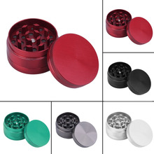 2016 3 Layer Free Shipping New Tobacco Grinder Leaf Herbal Herb grinder Smoke Spice Crusher Hand tobacco weed grinder 6