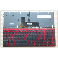 NEW for Clevo p650se Sager NP8651 P6500 Gaming Laptop red Laptop Keyboard US English Backlit