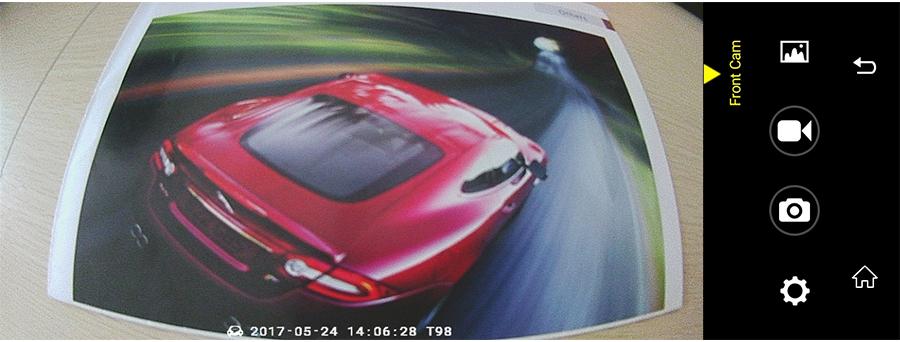 "Junsun 8"" 4G Special Mirror Car DVR Camera Android 5.1 with GPS DVRs Automobile Video Recorder Rearview Mirror Camera Dash Cam 36"