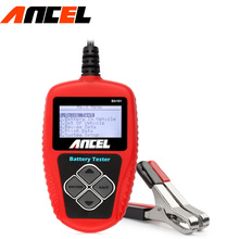 ancel BA101 Automotive 12V Auto Battery Tester Vehicle Battery power Analyzer (100~2000 CCA) car battery tester analyzer(China)