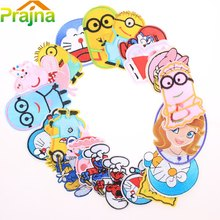 20pcs/set Cartoon Iron On Patches for Clothes Funny Patch Logo Custom Embroidered Patch Shirt Jeans Embroidery Patch Clothing C3