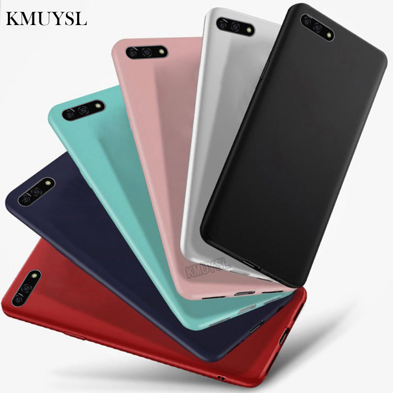 Candy Color Full Cover on Honor 7S Case Soft Silicone TPU Protector Case For Huawei Honor 7S Honor7S Coque Capa 5.45 inch (China)
