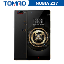 New Arrival Nubia Z17 5.5'' 4G LTE Mobile Phone Snapdragon 835 1920*1080P 6G 64GB/128G Dual Rear Camera Fingerprint Fast Charger