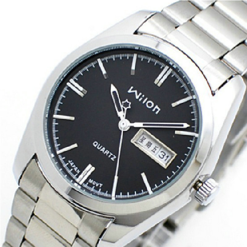 Authentic veyron Korean fashion lovers watch Leisure mens watch Double calendar quartz couples<br>