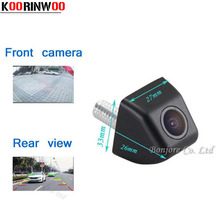 Koorinwoo Mini Car front Camera Auto rear view cam Waterproof Reverse Parking Camera Parking System High quality safe Assistance(China)