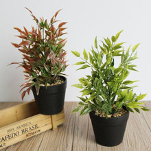 Artificial Plant Potted Plants Simulation Flower Bonsai Office Home Interior Coffee Table Decoration Arrangement