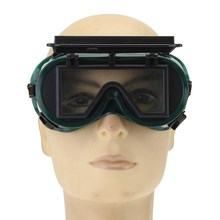 NEW Safurance Industrial Welding Goggles Head Clamshell Protection Glasses Mask Green Square Workplace Safety(China)
