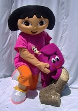 Dora mascot apparel character Dora dress free shipping