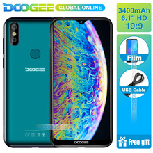 "DOOGEE Y8 3GB RAM 16GB ROM Android 9.0 Smartphone 6.1""FHD 19:9 Display 3400mAh MTK6739 Quad Core 4G LTE Mobile Waterdrop Screen(China)"