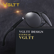 Men Sunglasses Brand designer Pilot Polarized HD lens Sun glasses Big Size Fashion aviation UV400 Rayed Mirror Male For Driving(China)